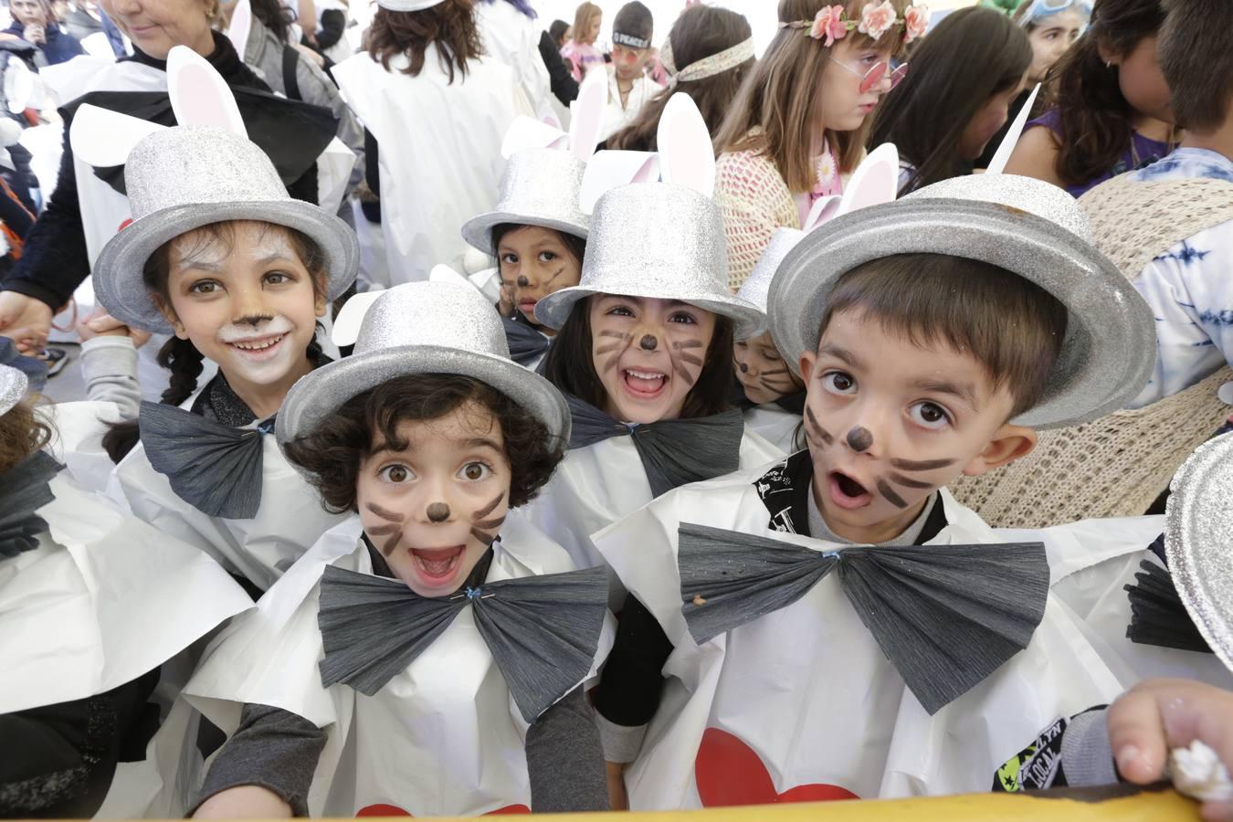 Los escolares de Portugalete disfrutan del Carnaval