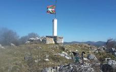 Ruta Lagarte (811 m.), Arburu (789 m.) y Gaztelu (778 m.)
