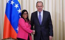 Rusia escenifica su solidaridad con el régimen de Maduro