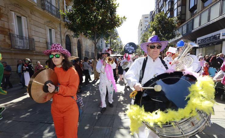 El Carnaval está pintado en Vitoria