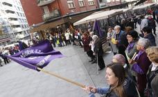 Nervión-Ibaizabal sale a la calle para alzar la voz en favor de los derechos de la mujer