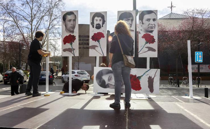 Homenaje a las víctimas del 3 de marzo