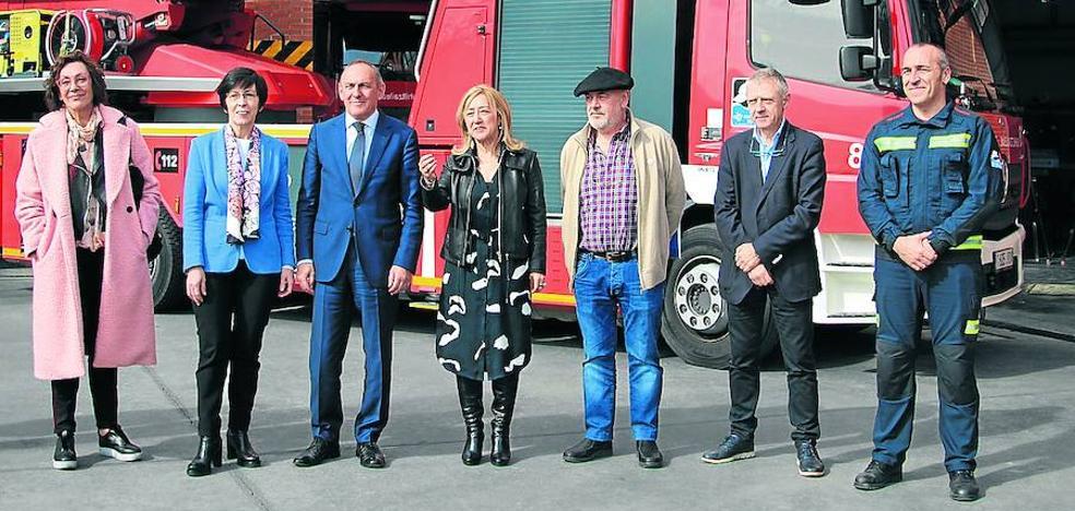 La ampliación del parque de bomberos y Ertzaintza de Llodio contará con helipuerto