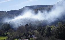 La Ertzaintza sospecha que un ganadero provocó los incendios de Muskiz