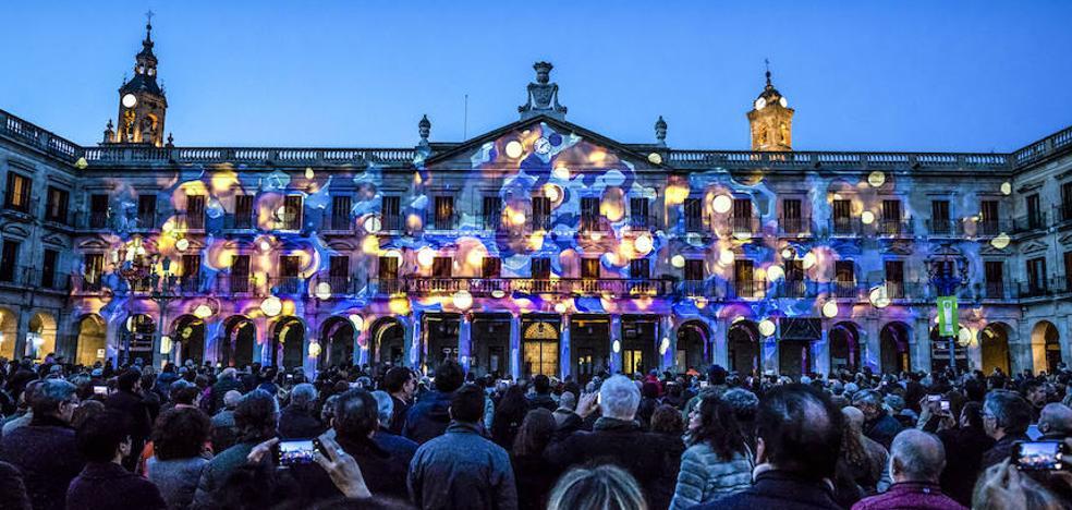 El Umbra Light Festival de Vitoria deslumbró a más de 84.000 espectadores