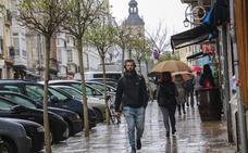 Vitoria vuelve a ver la lluvia tras 22 días en seco