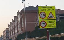 Leioa reduce a 30 la velocidad en el centro para aumentar la seguridad y disminuir la contaminación