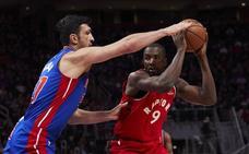 El 'doble-doble' de Ibaka no salva a los Raptors ante los Rockets