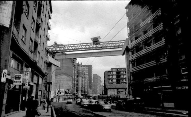 El viaducto de Rekalde, más de 40 años de problemas