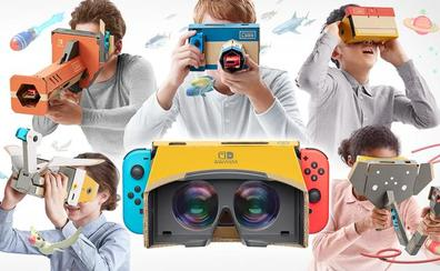 La realidad virtual llega a Nintendo Switch