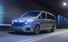 Mercedes presenta en Ginebra la Clase V eléctrica 'vitoriana'