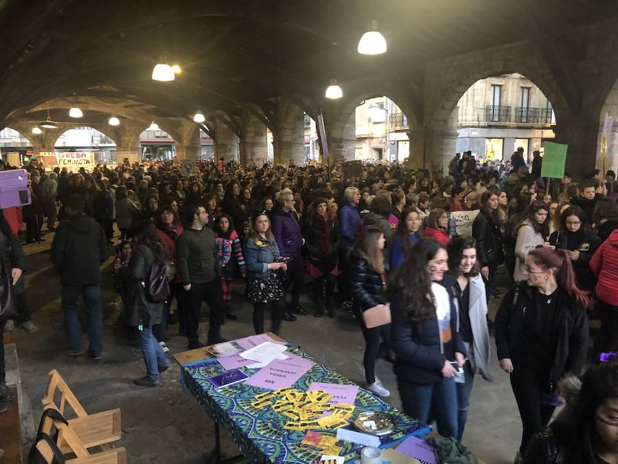 Manifestación por el 8-M en Durango
