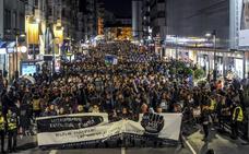 El grito por la igualdad desborda de nuevo las calles de Vitoria