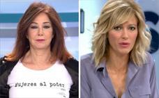 Ana Rosa y Susanna Griso este año no hacen huelga; María Casado y Pepa Bueno, sí