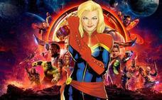La 'Capitana Marvel' se suma al 8-M