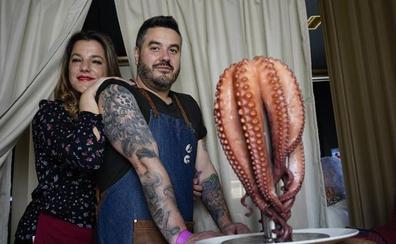 Gon-Vaz (Bilbao): No hay nada como el abrazo de un pulpo
