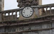 El reloj de los Josefinos de Orduña se queda sin agujas