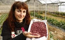 Yolanda Vicente: «Cuando empecé no sabía ni de dónde salían las lechugas»