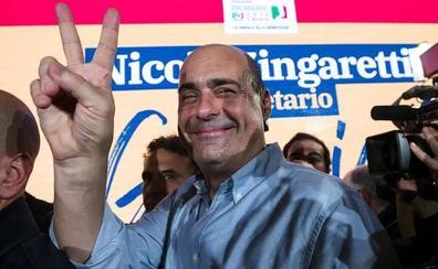 Zingaretti presenta sus credenciales frente al caos del Gobierno italiano