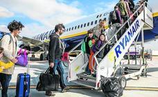 Ryanair no contempla vuelos a Colonia y Mallorca desde Foronda a partir de otoño