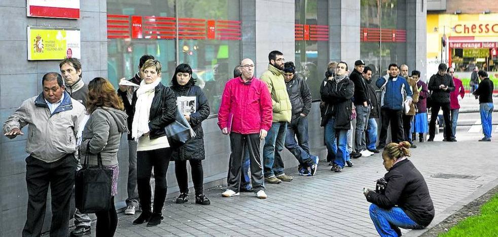 Los cambios en el subsidio por desempleo podrían beneficiar a 38.000 parados vascos