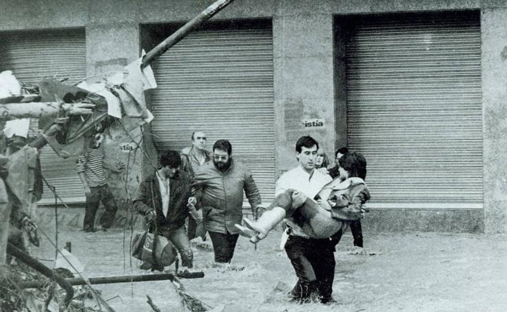 Las inundaciones de 1983, un triste recordatorio del riesgo