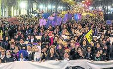Partidos y grupos feministas se felicitan por el «éxito» de una movilización «histórica»
