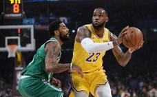 Los Bucks consolidan mejor marca de la liga y los Celtics hunden un poco más a los Lakers