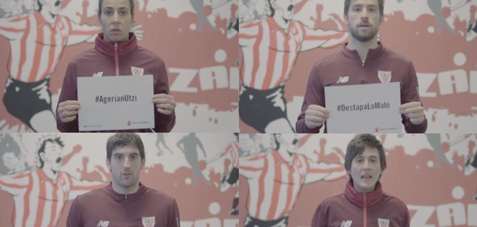El Athletic se suma a una campaña de Save The Children contra los abusos