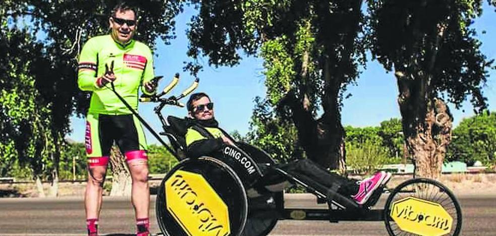 Un tetrapléjico hará un triple Ironman
