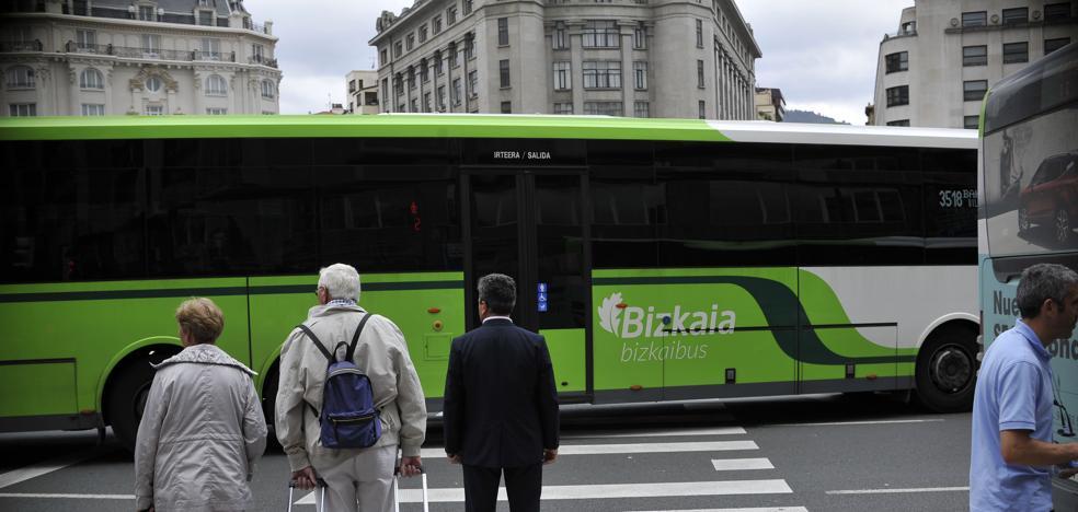Los usuarios de Bizkaibus podrán conocer por mail las incidencias en las líneas