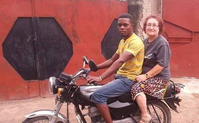 Una misionera de Carranza inicia una colecta para rescatar a un joven de El Congo