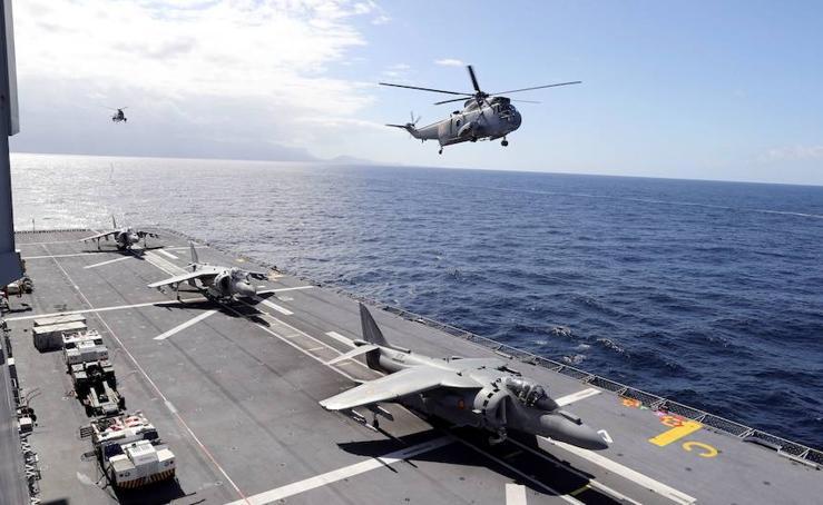 Así es el portaaviones 'Juan Carlos I'