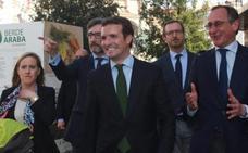 Casado defiende el Concierto Económico porque «es bueno para Euskadi y está en la Constitución»