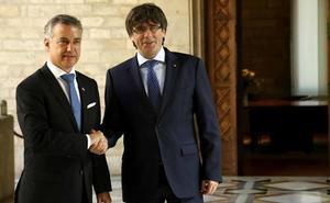 En el juicio del 'procés' «dije la verdad», responde Urkullu a Puigdemont