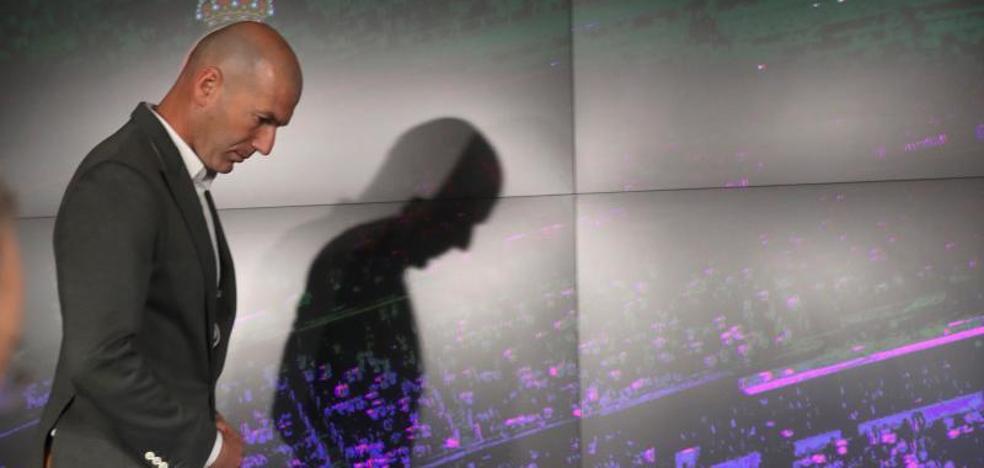 Los vaqueros de Zidane que revolucionaron su presentación como técnico del Real Madrid