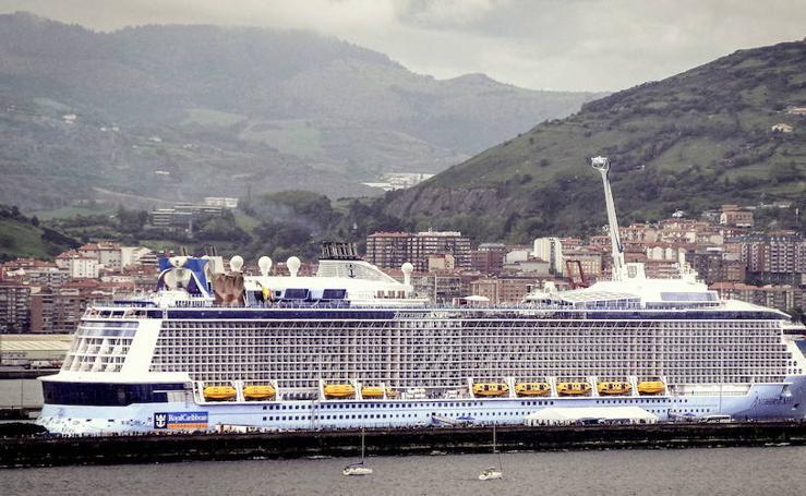 Colosos en el Puerto de Bilbao