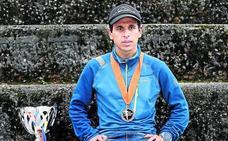 El atleta de élite marroquí que vive en Sestao al que quieren expulsar por no tener trabajo