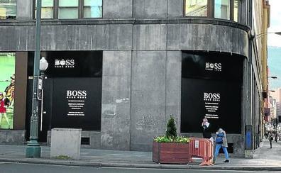 Boss cierra su tienda de Gran Vía y deja a Bilbao huérfana de lujo