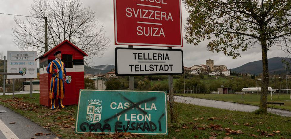 En Tellería no quieren ser vascos, sino suizos