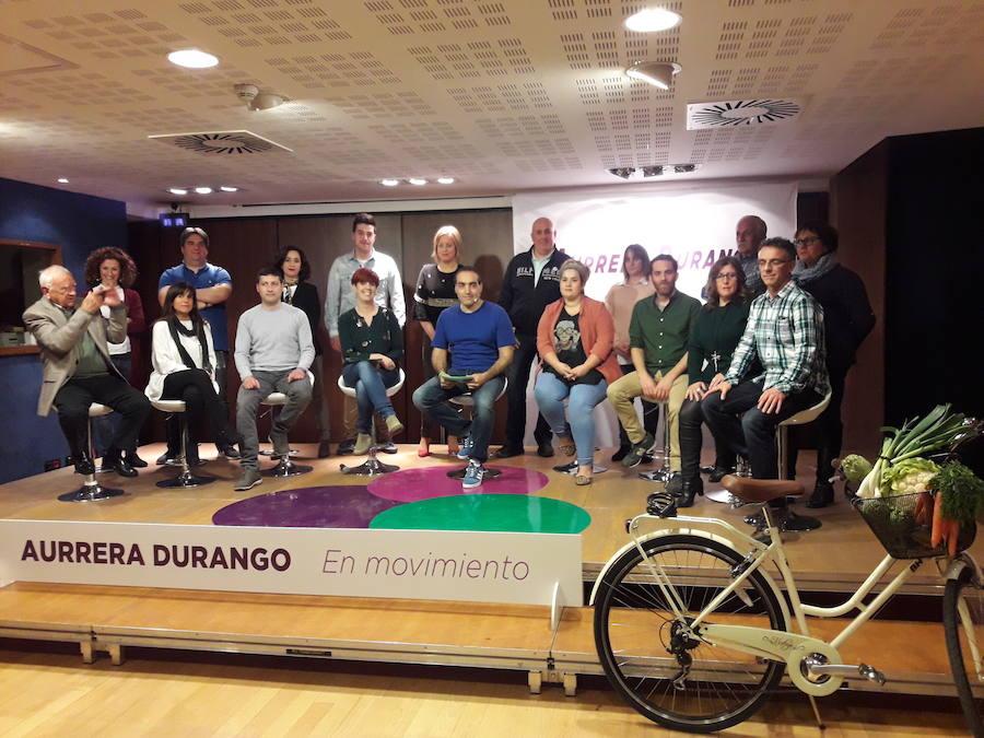 Herriaren Eskubidea atrae a representantes de las plataformas ciudadanas de Durango