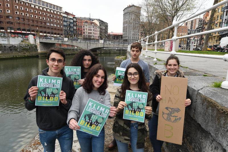 El grito de los jóvenes contra el cambio climático: «Actuemos ya, no tenemos un planeta B»