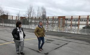 Destinan 1,4 millones de euros a cubrir un patio del colegio El Casal en Abanto