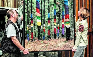 El Bosque Pintado ilumina Montehermoso