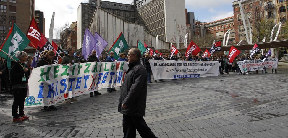 Los sindicatos dicen que todavía hay tiempo para llegar a un acuerdo este curso en la concertada