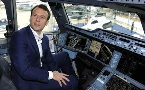 Macron plantea al primer ministro etíope la compra de aviones Airbus tras el accidente del Boeing