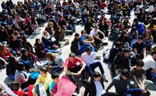 Los alumnos de la UPV, contra la «extrema» crisis medioambiental