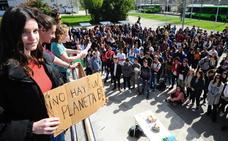 Estudiantes de la UPV alzan la voz contra la «extrema» crisis medioambiental