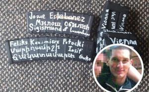 El nombre de un vasco aparece en uno de los cargadores de los asesinos de Nueva Zelanda
