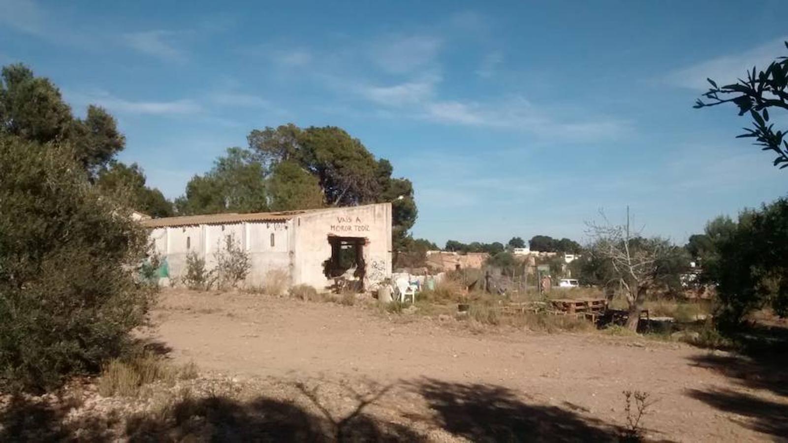 Dispositivo de búsqueda de los niños en un pueblo de Valencia